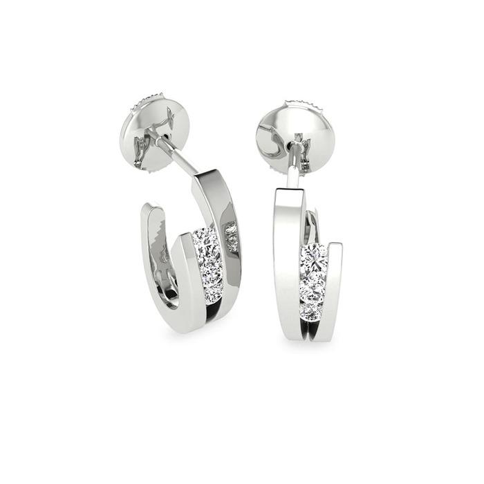 Earrings Classics Diamond Gold Endless