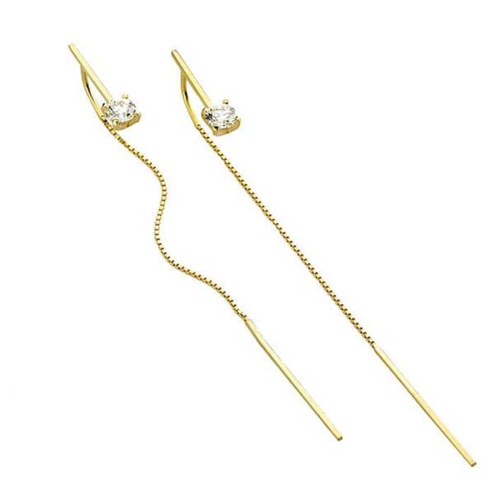 Boucles d'Oreilles  Créateurs Diamant or VENITIENNES