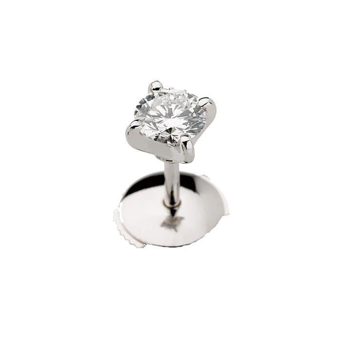Earrings Mono Diamond Gold MONO CRADLE