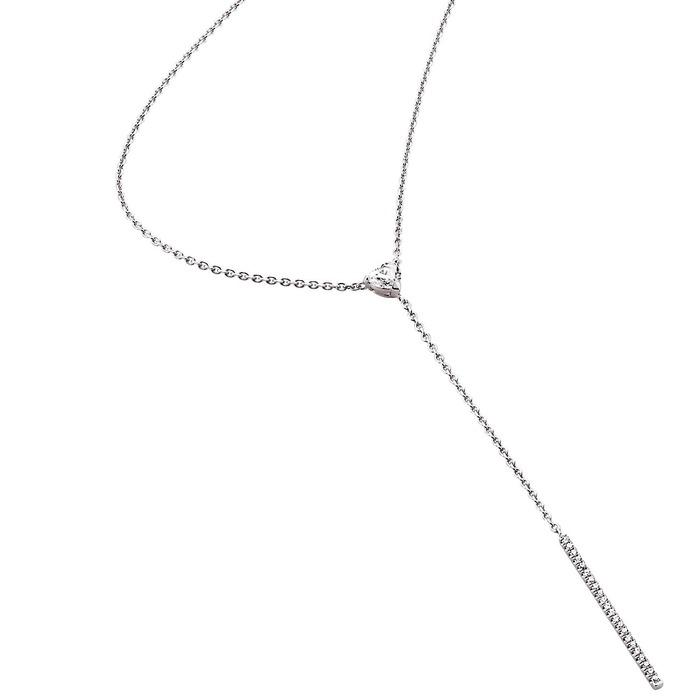 Pendentif Classique  Diamant or A COEUR JOIE