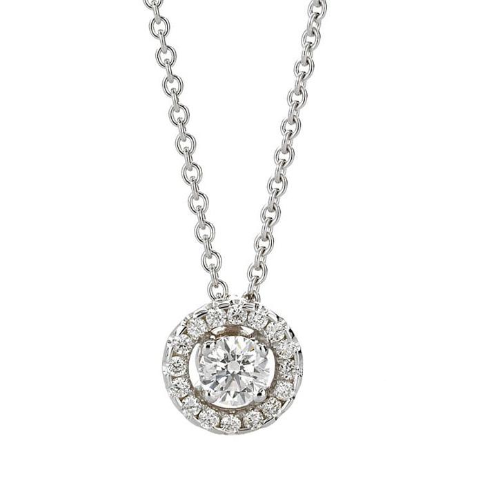 Pendant & Necklace Classics Diamond Gold TEMPTATION