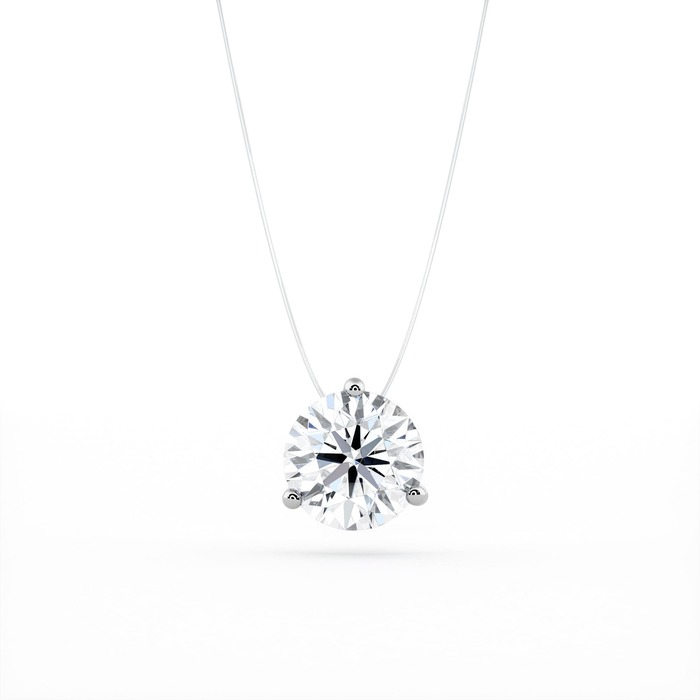Pendant & Necklace Classics Diamond Gold Fishing wire