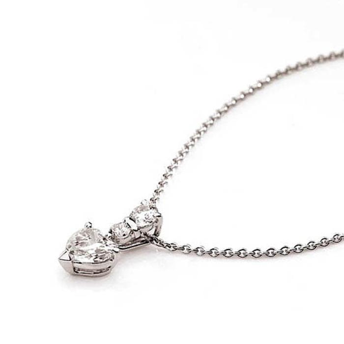 Pendentif Classique  Diamant or taille COEUR +