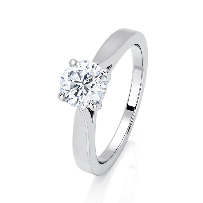Engagement ring Paved  Diamond Gold DIAM