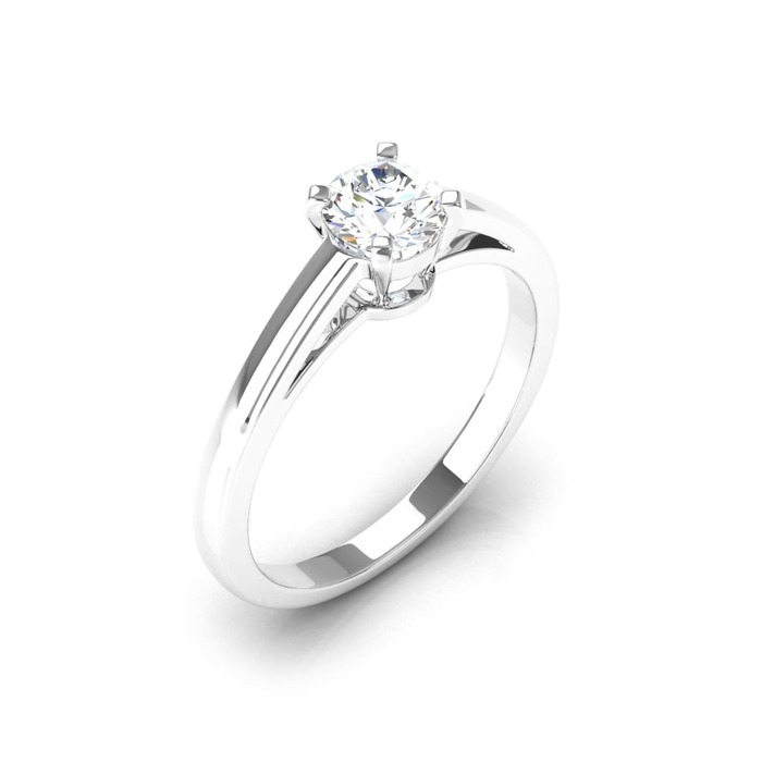 Engagement ring Classics Diamond Gold Some-day (one-Night) 4-Claws