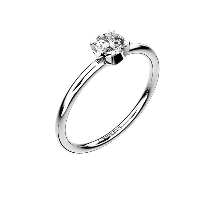 Engagement ring Classics Diamond Gold Dulcinée
