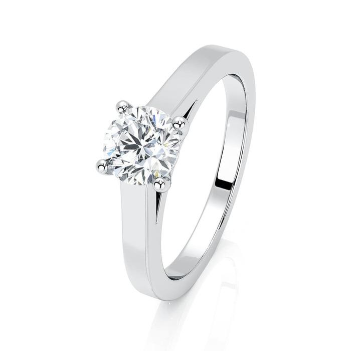 Solitaire  Classique  Diamant or Karma 4 Griffes