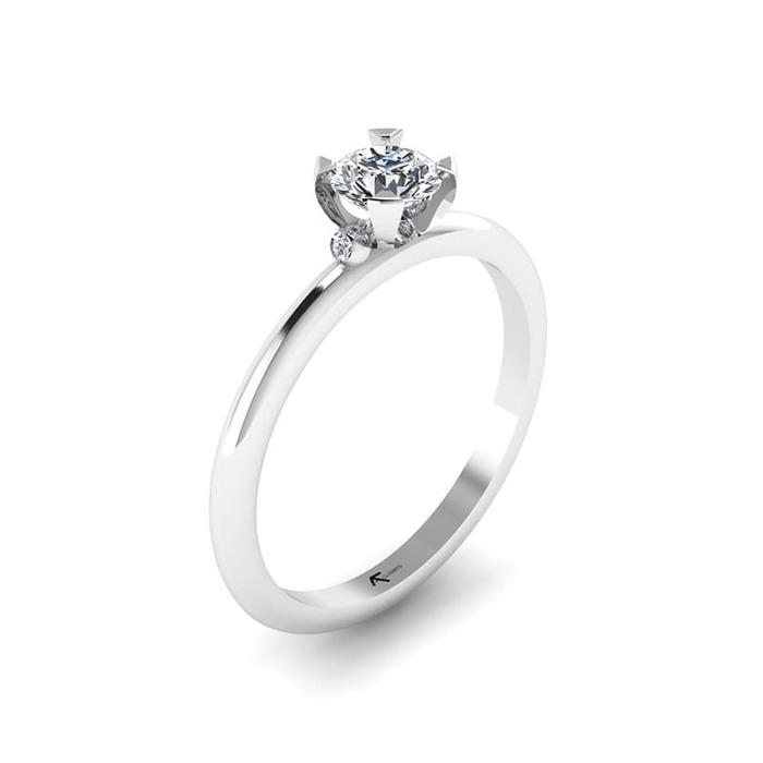 Engagement ring Classics Diamond Gold LOVE