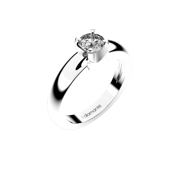 Solitaire  Classique  Diamant or NOSOLO