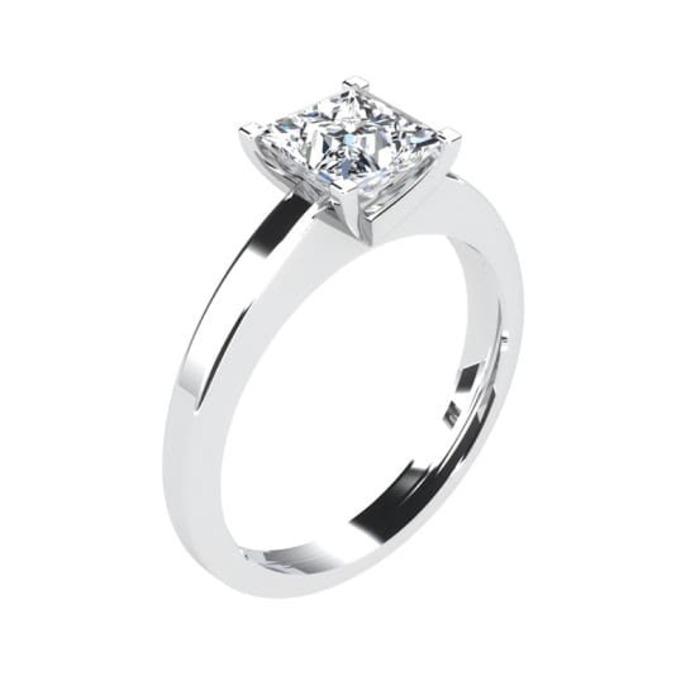 Solitaire  Classique  Diamant or Princesse Royale