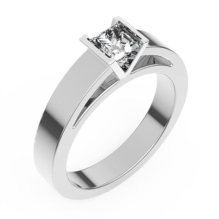 Engagement ring Classics Diamond Gold PRINCESS V