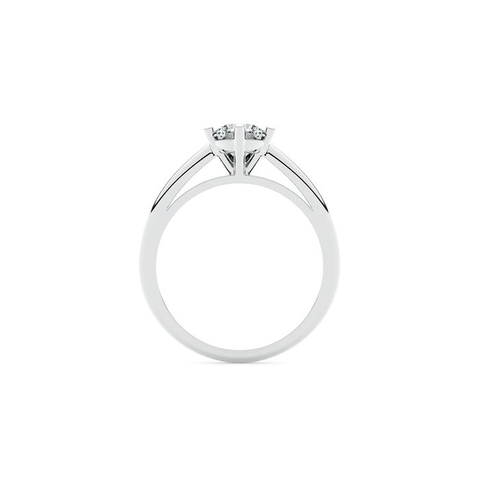 vente Solitaire  Classique  Diamant or 5 Griffes Classic
