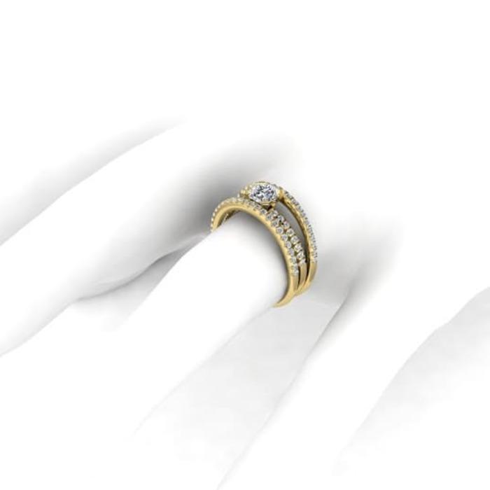 sell Ring Classics Diamond Gold PASSION