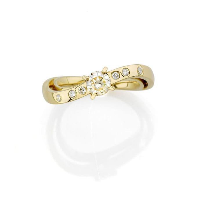vente Bague  Créateurs Diamant or CLIN D'OEIL LIGHT N°3