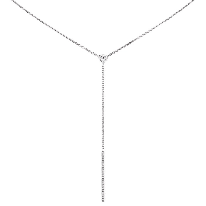 vente Pendentif Classique  Diamant or A COEUR JOIE