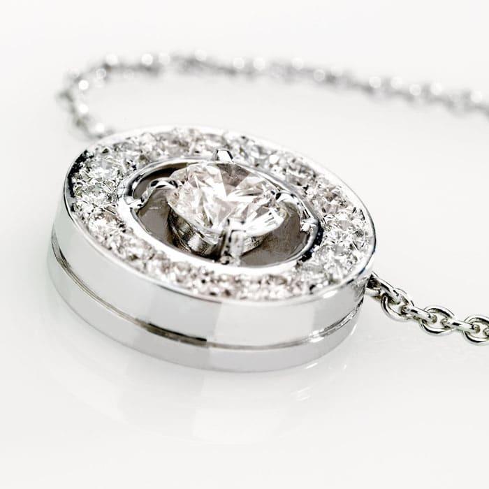 vente Pendentif Classique  Diamant or pavé, CERCLE DES POETES