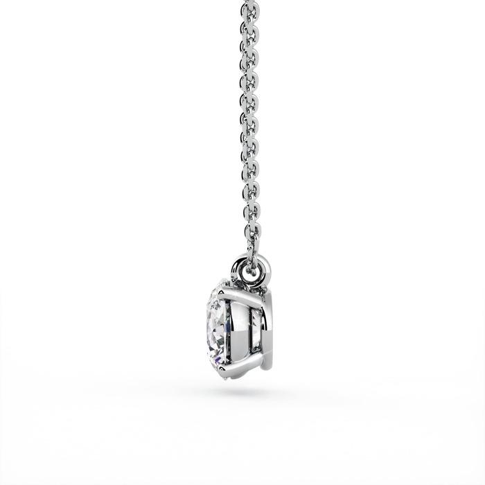 vente Pendentif Classique  Diamant or Pendentif 4 Griffes