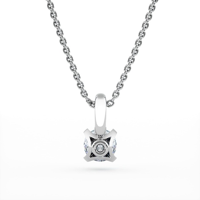 sell Pendant & Necklace Classics Diamond Gold SOLITAIRE  N°1 with swivelling bail