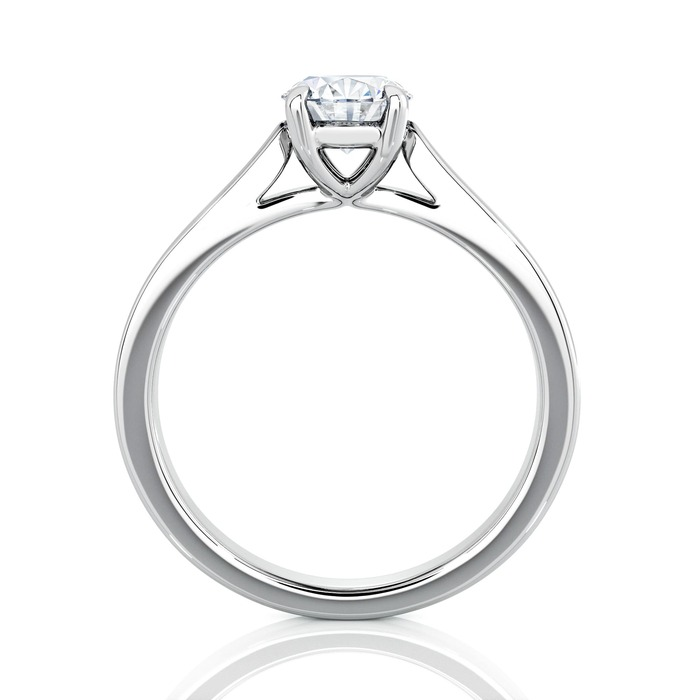 sell Engagement ring Paved  Diamond Gold DIAM