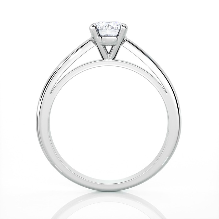 vente Solitaire  Classique  Diamant or 4 Griffes Classic