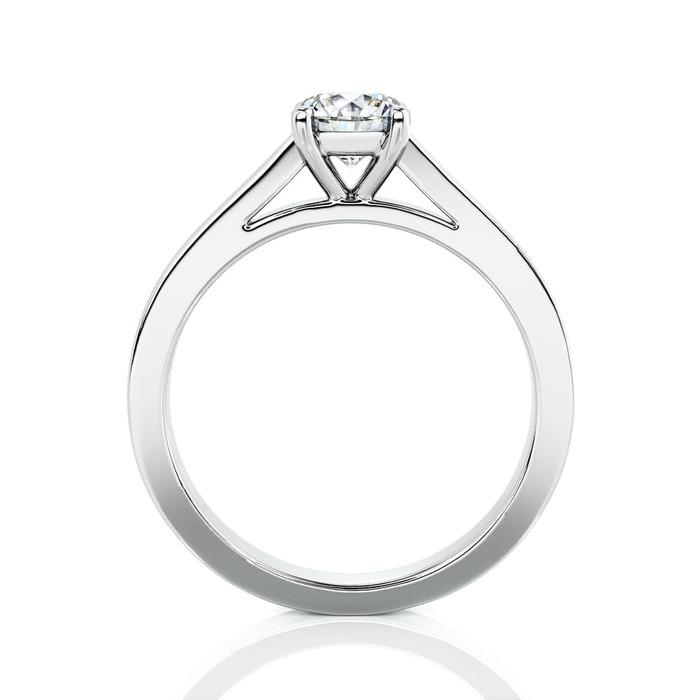 vente Solitaire  Classique  Diamant or Karma 4 Griffes