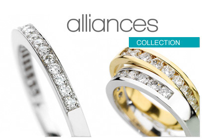 alliance mariage diamant